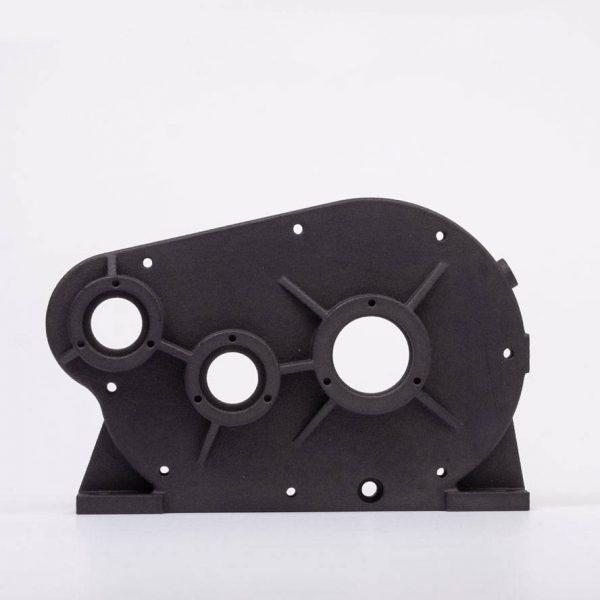 Black MJF Nylon 3D Printing